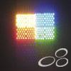 LED, Pixel Wash, 800 Leds met flightcase